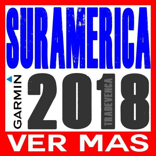 mapa garmin suramerica / sudamerica panama ruteable | 2018