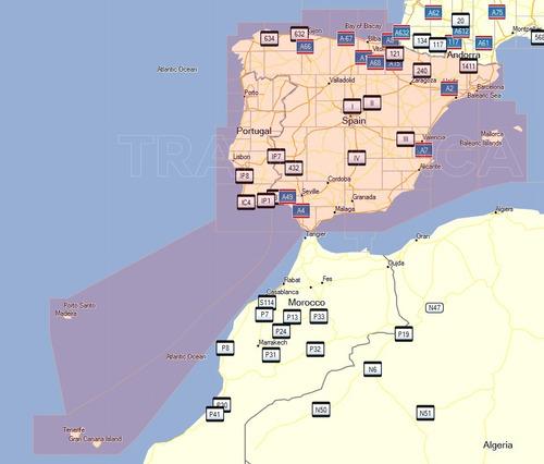 mapa gps garmin espana y portugal europa version actualizado