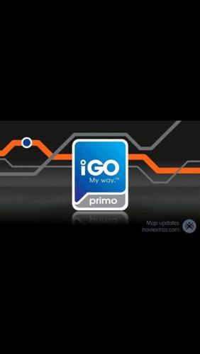 mapa gps igo primo actualizado 2017