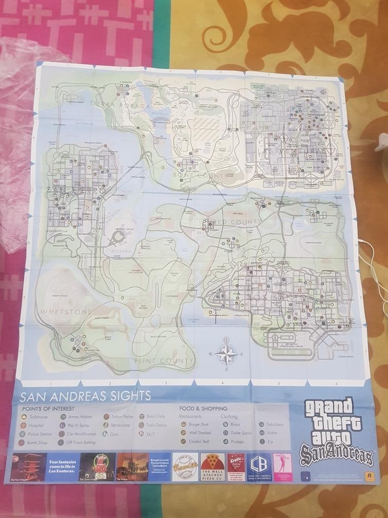 Mapa Gta San Andres, Publicacion Exclusiva