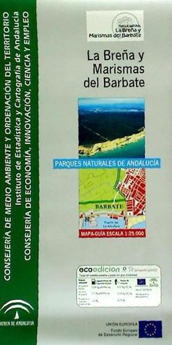 mapa guía del parque natural de la breña y marismas del barb
