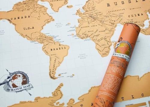mapa mapamundi raspadita p/raspar scratch 58x88 artico store