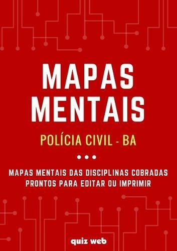 mapa mental policia civil rj