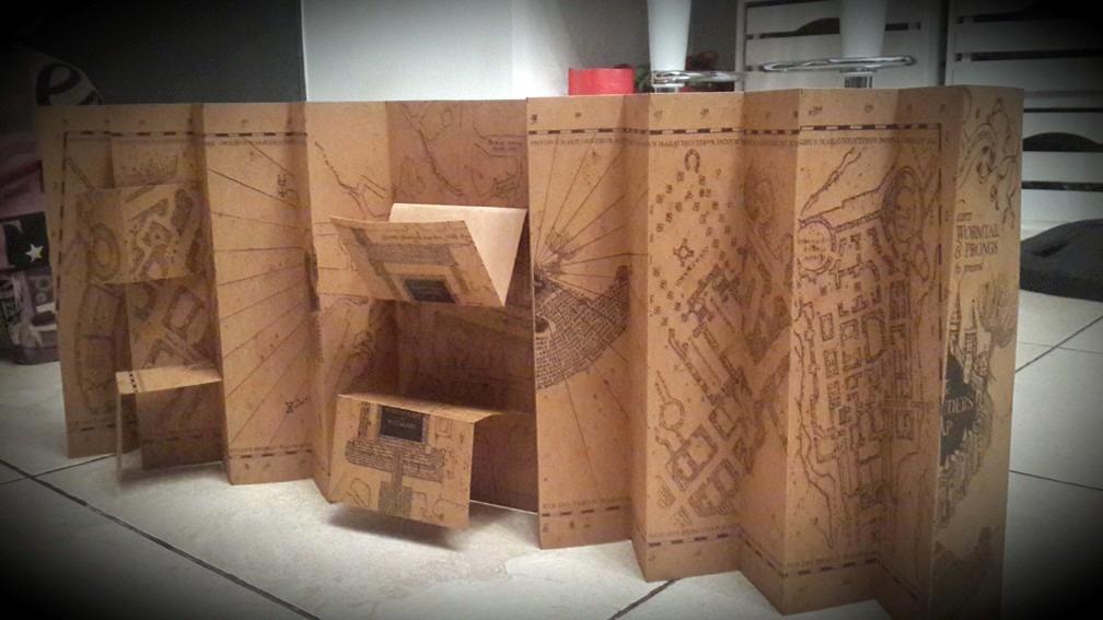 Mapa Del Merodeador Comprar.Mapa Merodeador Harry Potter Replica No Original Prop