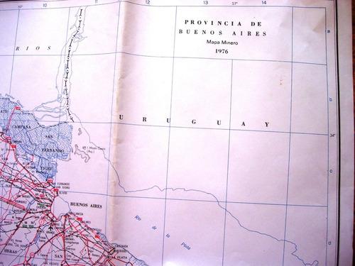 mapa minero mineria provincia de buenos aires geologia
