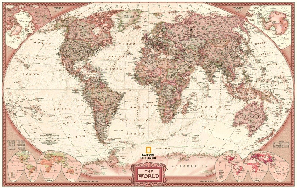 Mapa Mundi 65cmx100cm Mundo Poster 2018 Para Fazer Quadro R 138