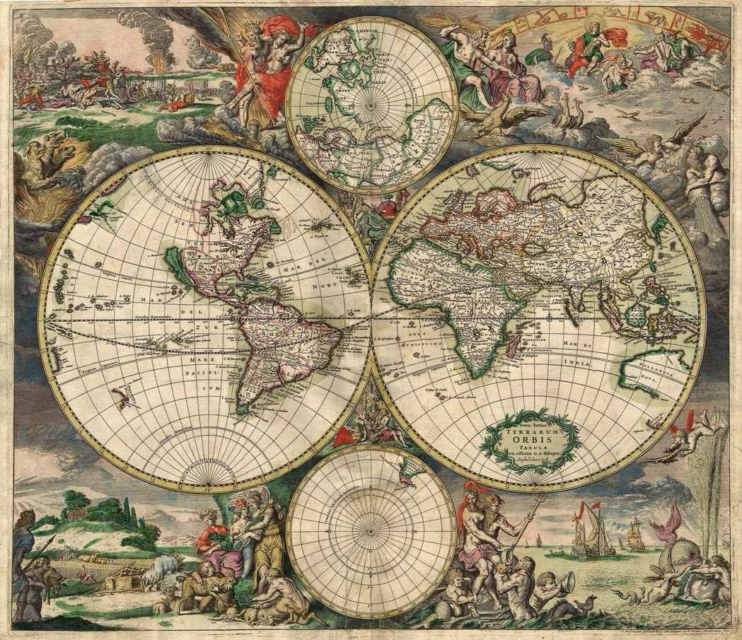 mapa mundo antigo Mapa Mundi Antigo 65x80cm Retrô Parede Decorar Vintage   R$ 78,00  mapa mundo antigo