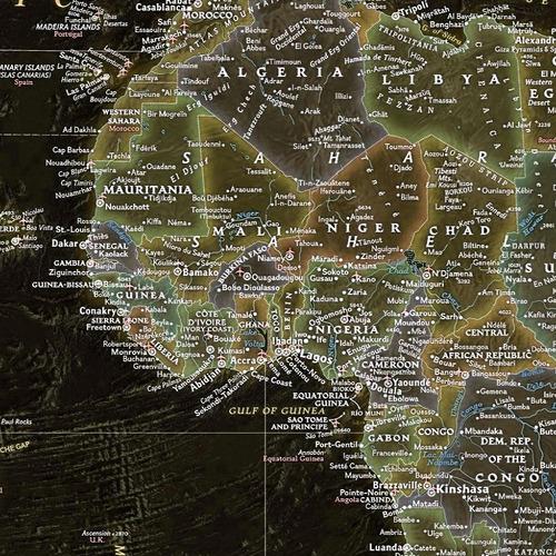 mapa mundi gigante black foto alta definicao - não é adesivo