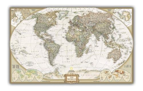 mapa mundi hd político moderno decoração foto de parede 2018