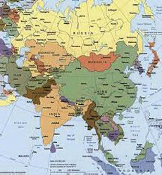 mapa mural f/p l/v d/f asia; zig-zag