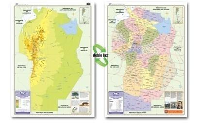 Mapa Provincia De Cordoba Politico.Mapa Mural Provincia De Cordoba Fisico Politico