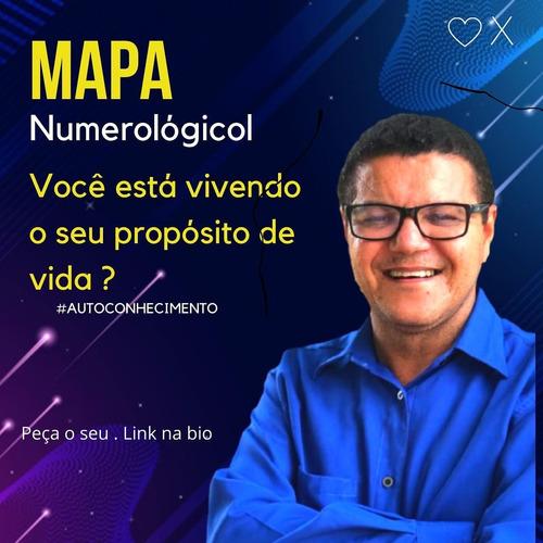 mapa numerologia cabalística + consultoria