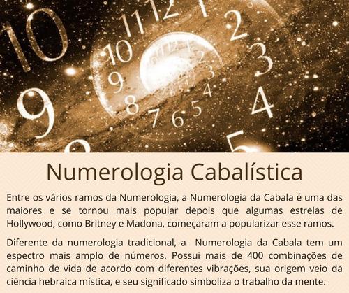 mapa numerológico personalizado