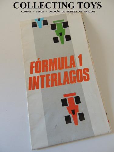 mapa oficial da formula 1 - interlagos 1990    (kk 28)