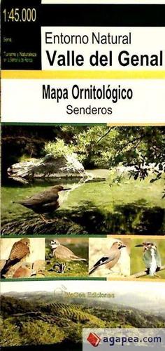mapa ornitológico del espacio natural valle del genal(libro