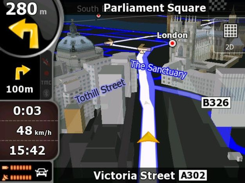 mapa para gps
