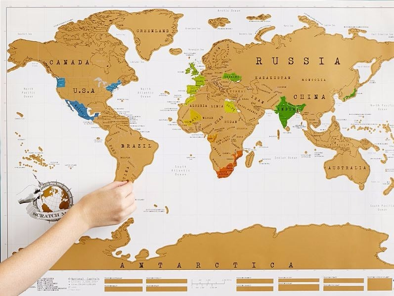 Mapa para raspar scratch map ideal para viajeros 70000 en mapa para raspar scratch map ideal para viajeros gumiabroncs Gallery