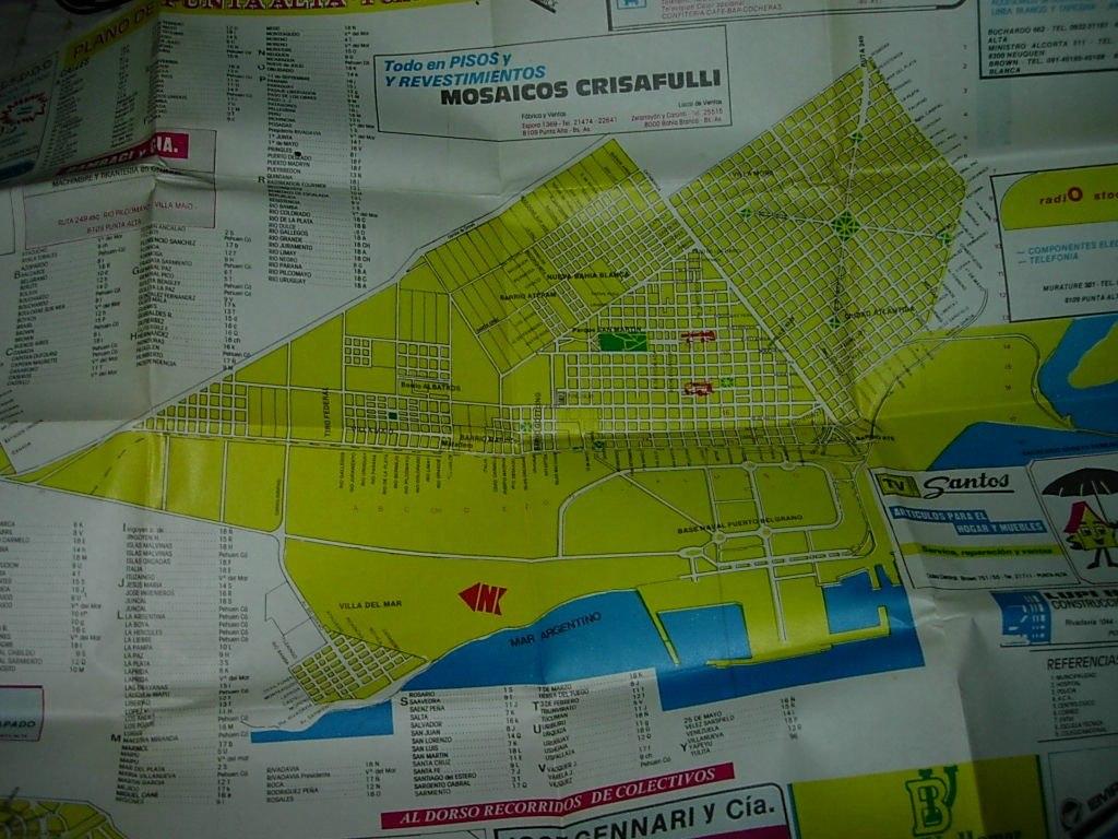 Mapa plano ciudad de punta alta buenos aires publicidades 7000 mapa plano ciudad de punta alta buenos aires publicidades cargando zoom thecheapjerseys Image collections