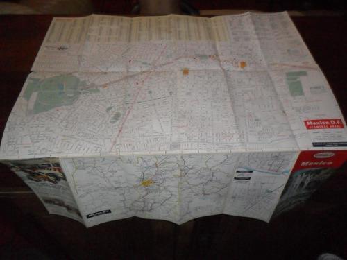 mapa plano humble mexico map road carretera petrolera