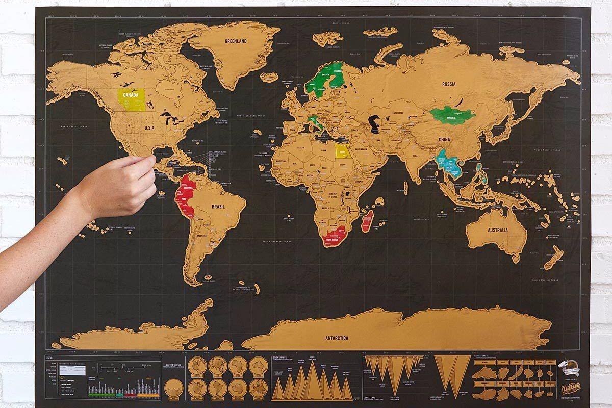 mapa raspadinha Mapa Raspadinha Versão Luxo Mapa Mundi Preto Mapa De Raspar   R  mapa raspadinha