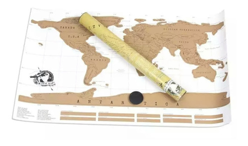 mapa raspar poster mapamundi planisferio raspadita viaje