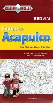mapa red vial acapulco guia roji