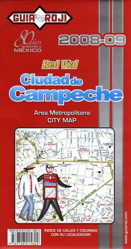 mapa red vial  de campeche