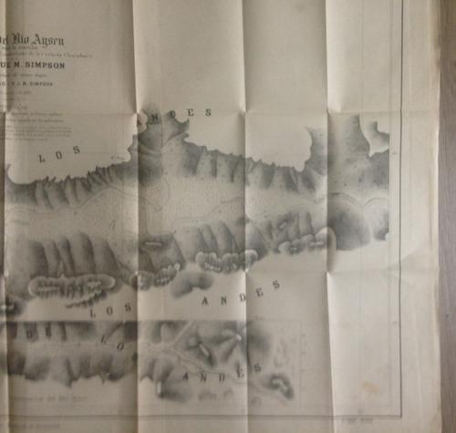 mapa rio aysen patagonia corbeta chacabuco simpson 1871