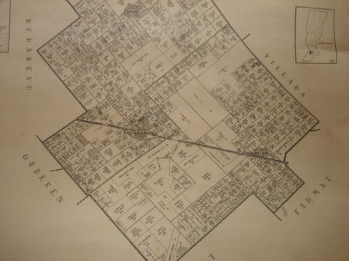 mapa rural / cartografia para el campo / pueblos de santa fe