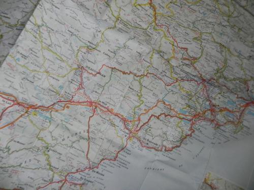 mapa rutero niza francia recta foldex