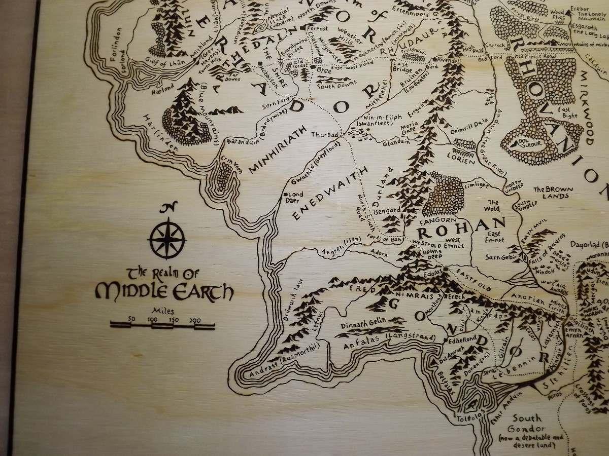 mapa senhor dos aneis Mapa Terra Média Senhor Dos Anéis Middle Earth Quadro   R$ 295,00  mapa senhor dos aneis