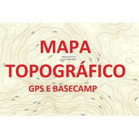 Mapa Topográfico - Reg Nordeste - Para Gps E Basecamp Gamin