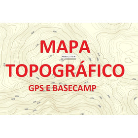 Mapa Topográfico - Região Sul - Para Gps E Basecamp Gamin