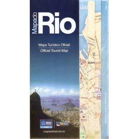 Mapa Turistico Gigante Oficial Cidade Do Rio De Janeiro