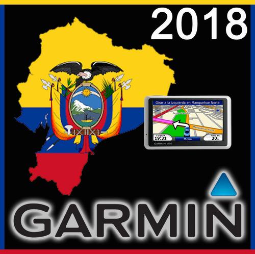 mapa vial ruteable ecuador 2018 gps garmin android iphone