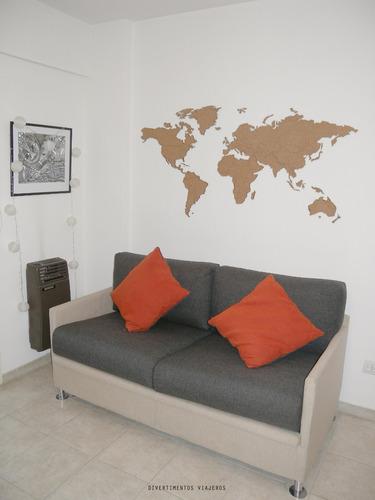 mapamundi planiferio de corcho 155x78cm ideal regalo