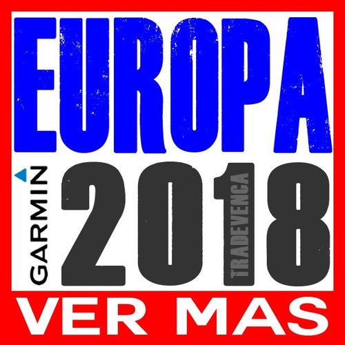 mapas garmin europa completa ruteable   version 2018  