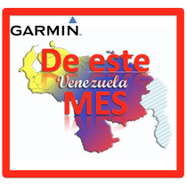Mapa De Venezuela Para Tu Garmin Nuvi De Este Mes