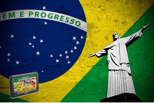 mapas gps garmin brasil enero v.01.19 + guía instalación