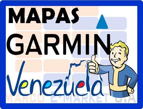 mapas gps garmin venezuela actualizado + poi - digital