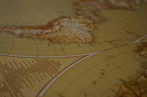 mapas mapamundis mapas mundiales antiguos montados en canvas