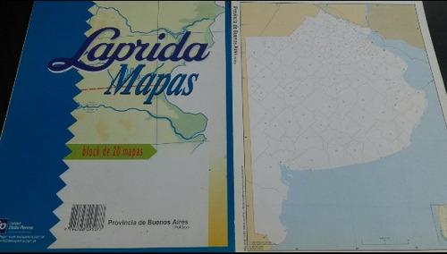 mapas número 5 de la provincia de buenos aires politico x 4