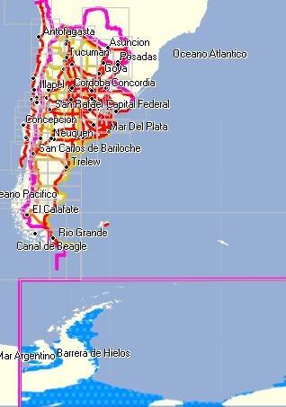 mapas para gps garmin todo el mundo