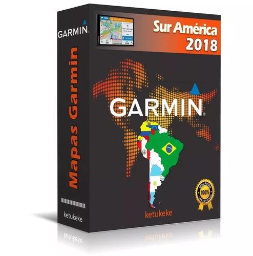 mapas sur america para gps garmin toda sudamerica + panama