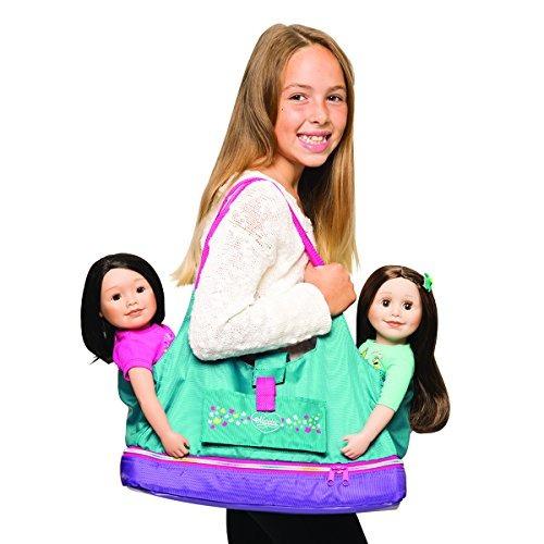 maplelea doll tote para muñecas de 18 pulgadas