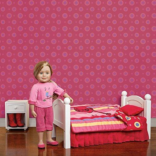 maplelea.s harmony bedding para muñecas de 18 pulgadas