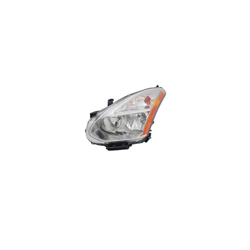mapm premium driver side halogen head light assembly