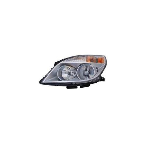 mapm premium driver side head light assembly without high be