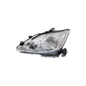 Mapm Premium Is250 / Is350 06-08 Head Lamp Lh, Objetivo Y Ca