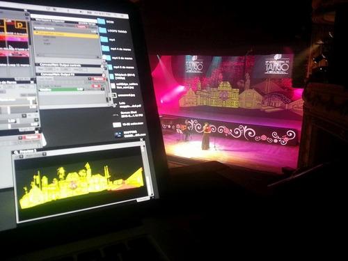 mapping 3d / diseño integral escenografico / animaciones